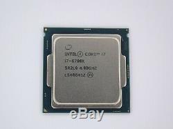 1151 Intel Core I7-6700k Processor (4c / 8t, 4ghz / 4.2ghz, Bx80662i76700k) # 1