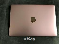 12 Apple Macbook 1.3 Ghz Intel Dual Core M7 512 GB (gb) Ram 8gb No. Air / Pro