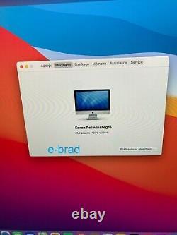 Apple Imac 21,5 2017 Retina 4k Intel I5 3,4ghz Quad Core/16go/500go Ssd
