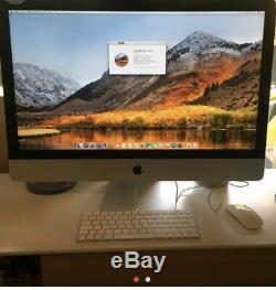 Apple Imac 27 Retina 5k Intel Core I5 3.5 Ghz, 1 Tera Ssd, 32gb Ram