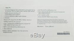 Apple Imac Pro 27 Late 2017 3.2ghz 8-core Intel Xeon, 1tb Ssd, 32gb Memory