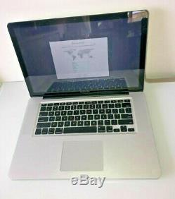 Apple Mac Book Pro Mc373ll / A 15.4 2.66 Ghz Intel Core I7 8gb Ram 500gb