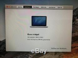 Apple Mac Book Pro Mc373ll / A 15.4 Intel Core I7 2.66 Ghz 8gb Ram 500gb
