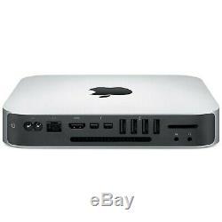 Apple Mac Mini A1347 2.5ghz Intel Core I5 240gb Ssd Hdd 500gb Ram 8gb Bone Mojave
