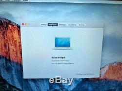 Apple Macbook Air 13 Model A1466 6.2 Mid-2013, Intel Core I5 1.3ghz 4gb 128ssd