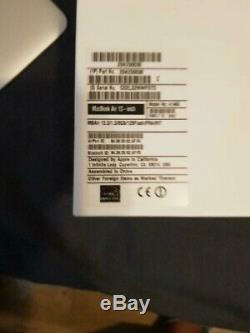 Apple Macbook Air A1466 13 2013 Intel Core I5 1.3ghz 8gb