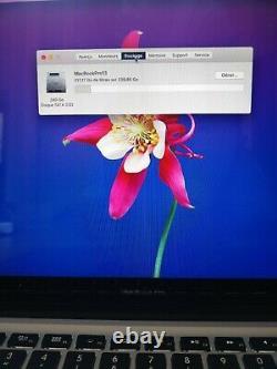 Apple Macbook Pro 13.3 Ssd 240gb Intel Core I5, 2.5 Ghz 8gb Ram