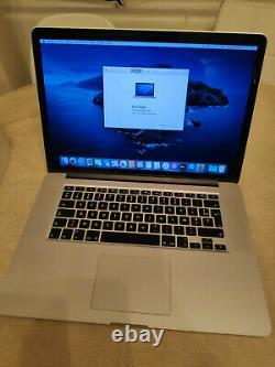 Apple Macbook Pro 15.4 256gb Ssd, Intel Core I7 4th Generation, 2.2 Ghz
