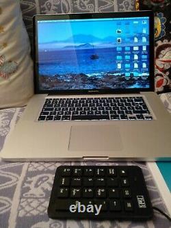 Apple Macbook Pro 15.4 Hd 500gb, Intel Core I7 2.3 Ghz, 4gb 1.6 Ghz 1440x900