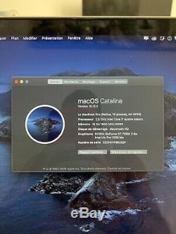 Apple Macbook Pro 15.4 (intel Core I7-4770hq, 2.20 Ghz, 256 GB Ssd, 16gb Ram)