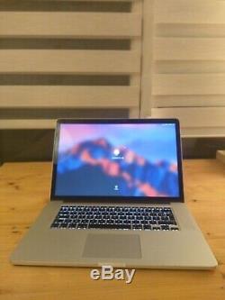 Apple Macbook Pro 15.4 (intel Core I7-4770hq, 2.5 Ghz, 512 GB Ssd, 16gb Ram)