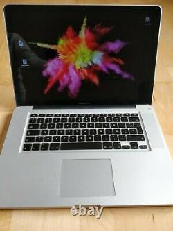 Apple Macbook Pro 15 Ssd 256gb Intel Core I7, 2.2ghz 8gb Ram
