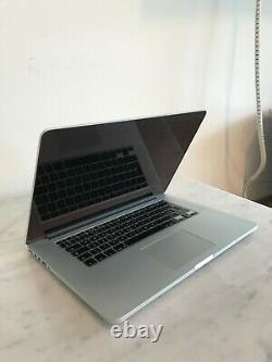 Apple Macbook Pro 15inch, Ram 16gb, Ssd 1t, 2.6ghz Quad-core Intel Core I7