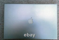 Apple Macbook Pro 17 A1261 Intel Core Duo 2.6ghz Ram 4gb Ddr2 DD 320gb