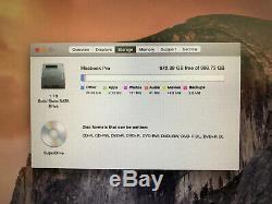 Apple Macbook Pro 17 A1297 Model 2011 Intel Core I7 2.4ghz Ram 16gb Ssd 1tb