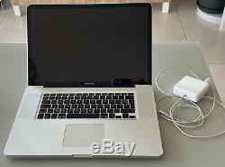 Apple Macbook Pro 17 MID 2010 2.53 Ghz Intel Core I5 500gb SATA Be