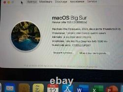 Apple Macbook Pro 2020 13.3 (256gb Ssd, Intel Core I5 8th Gen, 1.4 Ghz, 8gb)