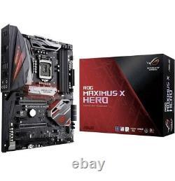 Asus Rog Maximus X Hero + Intel Core I7-8700k Processor (3.7 Ghz)