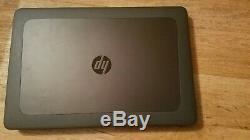 HP G4 15 Zbook 7820hq 2.9ghz Intel Core I7, 48gb, 1tb Ssd-m2200 Gtie HP