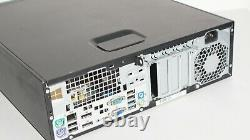 HP Prodesk 600 G1 Ssf Intel Core I5-4570 3.2 Ghz 8gb 240 Ssd 2x Dp Win 10 Pro