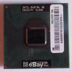 Intel Core 2 Duo P8400 2.26 Ghz P Socket Processor Slb3r