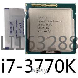 Intel Core I7-3770k 3.5ghz Lga1155 4core 8m 5gb / S Cpu Processor