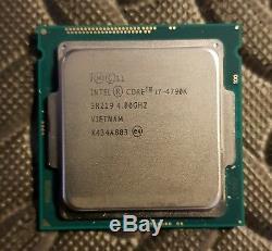 Intel Core I7-4790k Processor, 4.00 Ghz (maxi Turbo 4.40 Ghz) 8mb, Socket 1150
