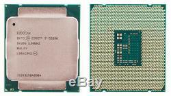 Intel Core I7 5820k 6 Cores 12 Threads Cache 15m 3.3 / 3.6 Ghz Lga Sr20s 2011v3