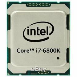 Intel Core I7 6800k 3.4ghz-3.8ghz Turbo Boost / 15mb / Lga2011-3 / 6 Core / 12thread