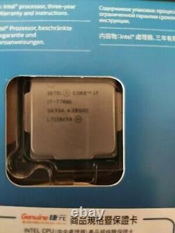 Intel Core I7-7700k 4.20ghz Quad Core Processor (bx80677i77700k)