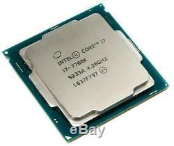 Intel Core I7-7700k 4.20ghz Quad-core Processor Fanless Without Box