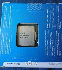 Intel Core I7-7700k Processor 4.20 Ghz Lga1151 New