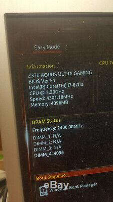 Intel Core I7-8700 Cpu Lga1151 3.2 Ghz