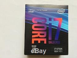 Intel Core I7-8700k 3.70 Ghz Fclga1151 Hexa Core Processor (bx80684i78700k)