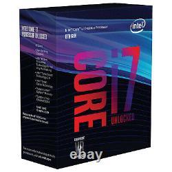 Intel Core I7 8700k 3.70ghz 12mb Cache Lga 1151 Sr3qr 8th Gen