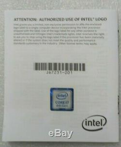Intel Core I7-8700k Processor (3.7 Ghz) Lga 1151 Sr3qr