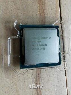 Intel Core I7 9700k 8x4,6ghz Turbo Delid Processor Socket 1151 Chipset Z390