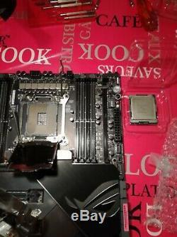 Intel Core I9-7900x Pre-binned 4.6ghz + VI Rampage Extreme + Ek Rgb Monoblock