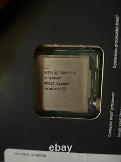 Intel Core I9-9900kf 3.60 Ghz Octa-heart Processor (bx80684i99900kf)