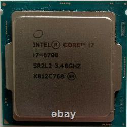 Intel Core Processor I7-6700 Cpu 3.40ghz Lga1151