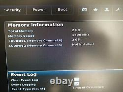 Intel Nuc Nuc6cays 2gb Ddr3- Intel Celeron Quad Core 1.5 Ghz