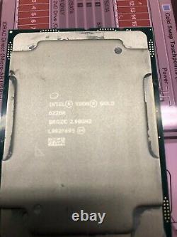 Intel Xeon 6226r 2.9ghz Core 16 Cpu Processor Fclga3647 Srgzc