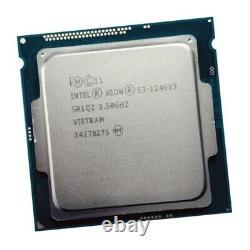 Intel Xeon Cpu Processor E3-1246 V3 Sr1qz 3.50ghz Lga1150 Quad Core Haswell