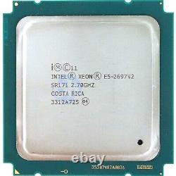 Intel Xeon E5-2697 V2 (sr171) 2.70ghz 12-core Lga2011 Cpu