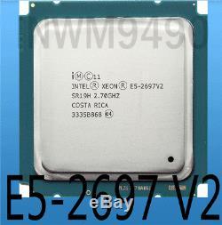 Intel Xeon E5-2697v2 12-core 2.70ghz Sr19h 30mb Cache Lga2011 Processor