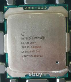 Intel Xeon E5-2699 V4 22 Core 44 Threads 2.20 Ghz