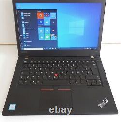 Lenovo Thinkpad T470 Intel Core I5-7300u 2.60ghz 8gb Ram DD 256gb Ssd Nvme