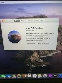 Macbook Pro 13 -2017 Intel Core I5 2.30 Ghz, 8 GB Ram, 128 Ssd Read Description