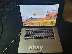 Macbook Pro 15 A1286 Intel Core I7 2.4ghz 16go