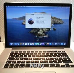 Macbook Pro 15 Intel Core I7 Cpu 2.2ghz 16gb Ram 256gb Ssd MI 2015